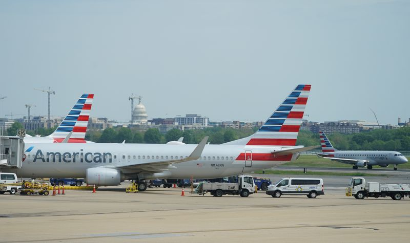 U.S. Treasury agrees on loan terms with American, four other airlines By Reuters