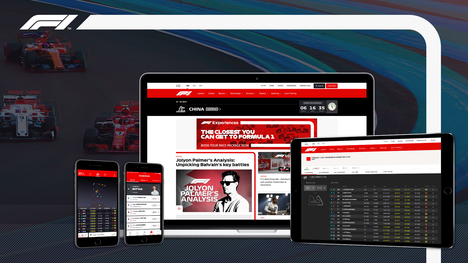 F1 Live – Experience Formula 1 Races In Real Time