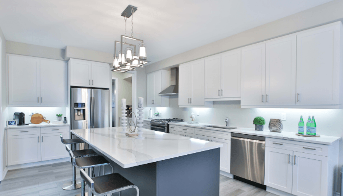 The kitchen you build in your custom dream home.
