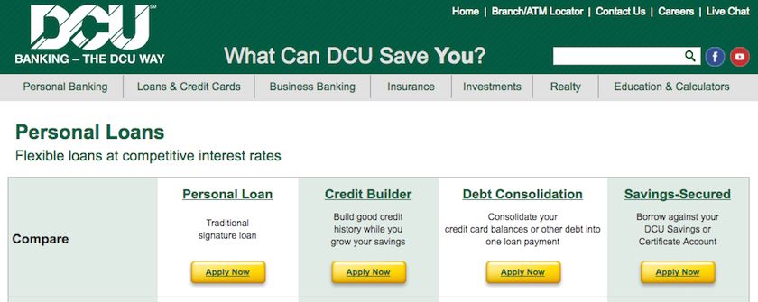 DCU Personal Loans Review for 2020