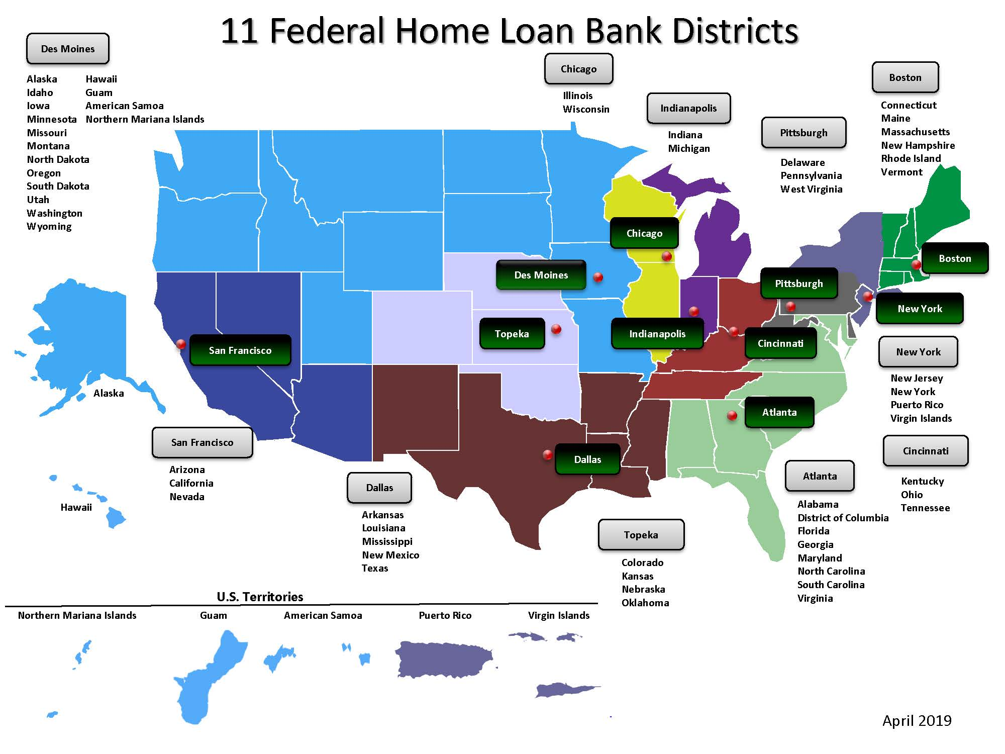 Federal Home Loan Bank Districts