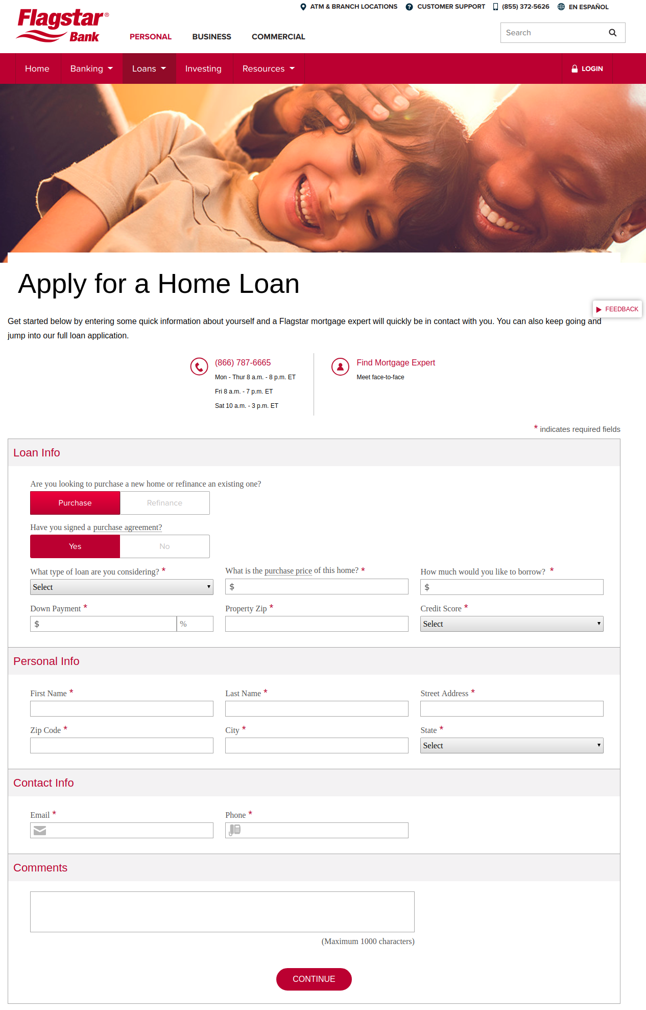 Apply for a Home Loan Flagstar Bank