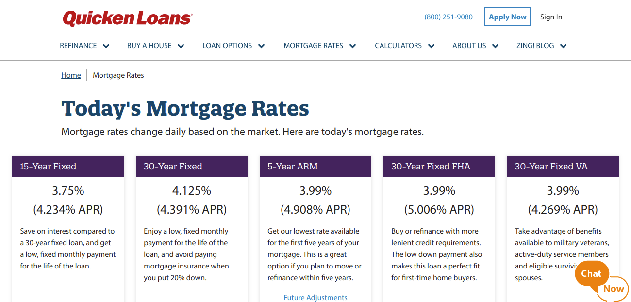 Mortgage Rates See Today s Rates Quicken Loans