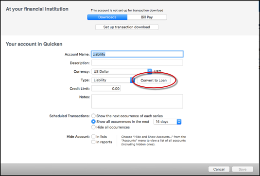 Using Loan Management in Quicken for Mac
