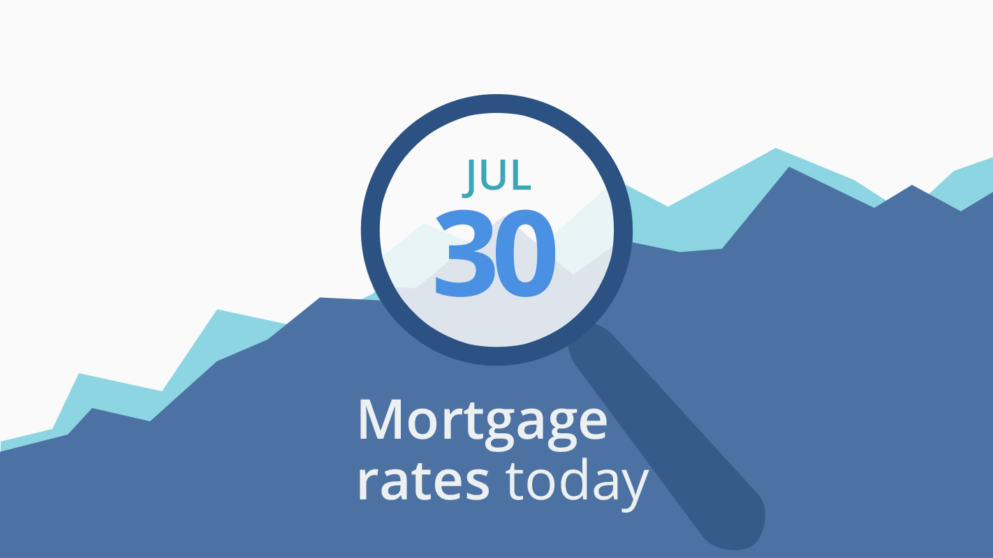 Mortgage rates today, July 30, 2019, plus lock recommendations