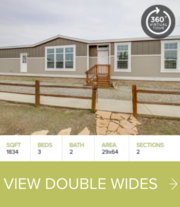 Double Wide Manufactured (Mobile) Homes