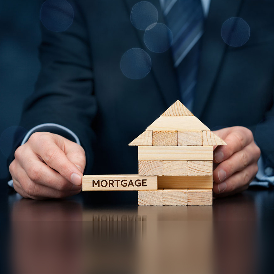 What is the difference between mortgage and loan
