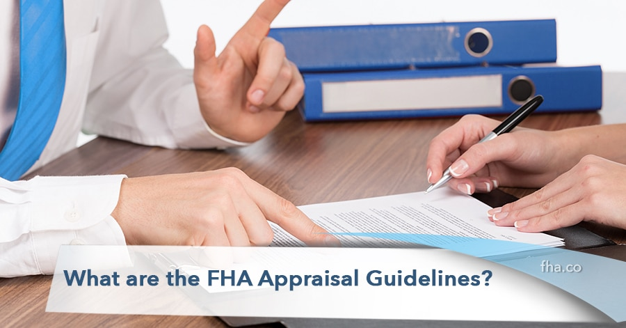 2020 What are the FHA Appraisal Guidelines?
