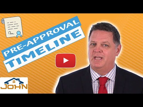 Pre Approval Timeline – Home Loan Steps for Buyers (step 3 of 11)