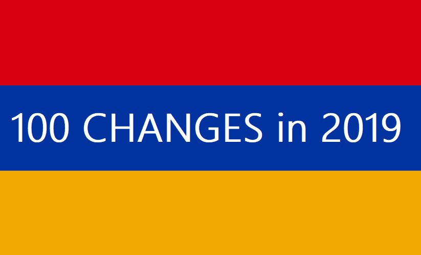 : What has changed in Armenia under Pashinyan? :: 100 facts about New Armenia :: Daily news collection, stay informed about the Anti-Corruption busts, Politics, Economy, Diaspora, Daily Life, and more… : armenia