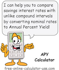 APY Calculator to Calculate Efficient Annual Price