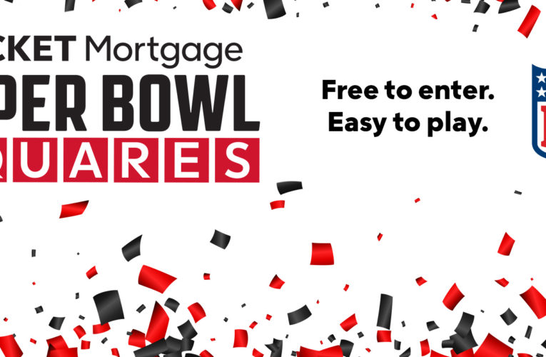 Rocket Mortgage Tremendous Bowl Squares Sweepstakes Returns for Tremendous Bowl LV After Awarding $1.75 Million in Final 12 months's Huge Recreation